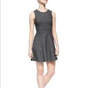 NWT Theory Tillora Wool Grey Prompted Fit N Flare